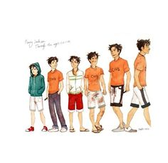 Percy Jackson starting from The Lightning Theif to The Heroes of Olympus series!