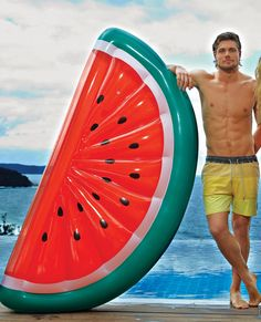 www.shopdirty30.com | Giant Watermelon Float | Raft | Inflatables | Pool Toys