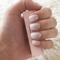 Ombre and accent nail