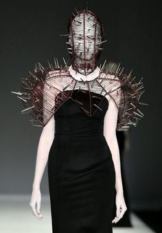 avant garde | runway | high fashion | macabre | surreal | occult | goth | editorial | dark fashion