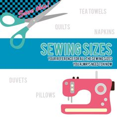 How many times have I searched for the recommended size for a quilt, and cocktail napkin or a tea towel? Too many to count! Which is why I have made this list of standard sewing sizes as a reference for myself (and you!) for future sewing projects. All sizes listed below are in inches.The dimensions …