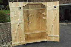 Walk-In Fridge: Tack Locker complete