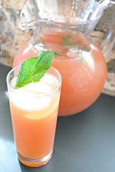 Watermelon Mint & Lychee Mojitos