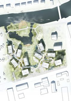 Image 9 of 9 from gallery of C.F. Møller's Proposal for the Örebro Timber Town Blurs the Line Between City and Nature. Photograph by C.F. Møller