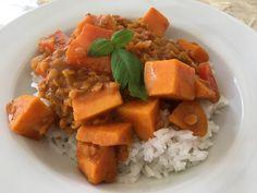 Rote Linsen Curry mit Süßkartoffeln, ein beliebtes Rezept aus der Kategorie Vegan. Bewertungen: 76. Durchschnitt: Ø 4,6.