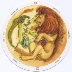 Strength - Circle of Life Tarot