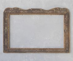 Antique Toile Painted Frame