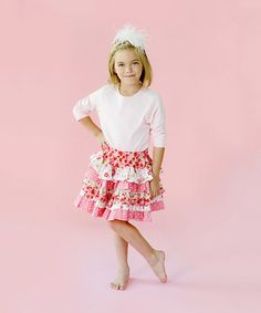 Take a look at this Twirly Girly Skirt - Toddlers and Girls by Jelly the Pug on #zulily today!