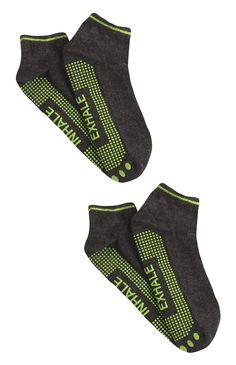 Lot de 2 paires de chaussettes de yoga