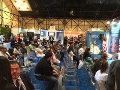 The folks in Caracas, Venezuela eager and willing to hear our seminar about Orlando and Central Florida!