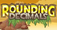 An exciting math game for Fifth Grade kids to learn rounding decimals to the nearest tenths, nearest hundredths, and to the nearest whole number. In this game, kids need to answer a question by shooting the Rounding Decimals, Percents, Fractions, Ten Games, Math Games, Math 5, Teaching Math, Fifth Grade Math, Fourth Grade