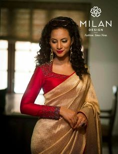 Only Saree .. not the blouse !