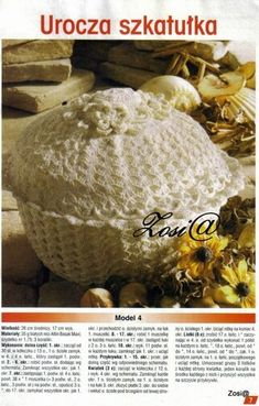 View album on Yandex. Crochet Doilies, Crochet Hats, Japanese Crochet Patterns, Views Album, Yandex, Home, Manualidades, Knitting Hats