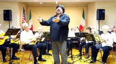 Joe Spinella, Tenor in concert with the Sarasota Mandolin Orchestra with 'O Sole Mio' #Italian #Music