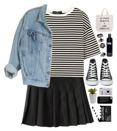 """""""Untitled #474"""" by amy-lopez-cxxi ❤ liked on Polyvore featuring TIBI, Converse, Jasmin Shokrian, Nikon and Topshop"""
