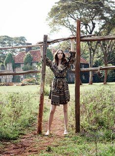 nice  Harper's Bazaar UK Março 2014   Alana Zimmer por Liz Collins  [Editorial]