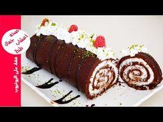 حلوى بدون فرن في خمس دقائق روعة في المذاق حلويات سهلة وسريعة التحضير باردة كيك السويسرول - YouTube