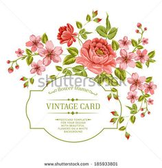 http://thumb7.shutterstock.com/display_pic_with_logo/1098050/185933801/stock-vector-luxurious-color-peony-background-with-a-vintage-label-vector-illustration-185933801.jpg