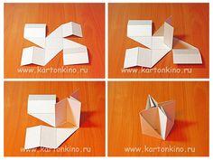 Простая мебель из картона
