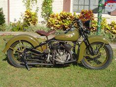 1937 Harley Davidson WL 45