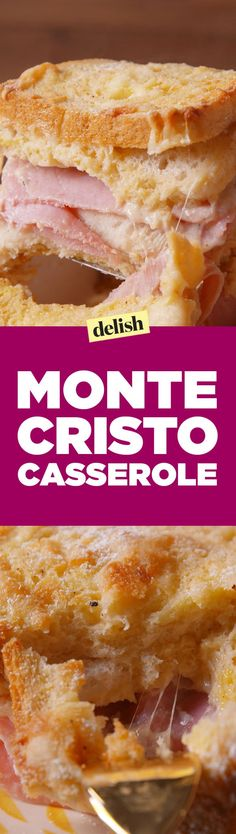 Turn Brunch Into A Party With This Monte Cristo Casserole
