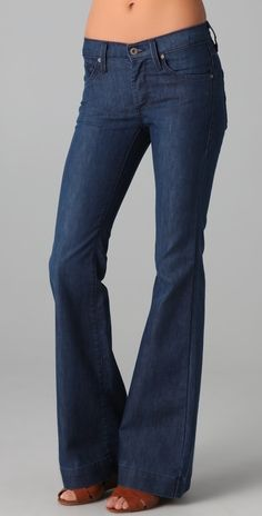 James Jeans Humphrey High Rise Flare Jeans thestylecure.com