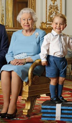 Duchess Kate: Prince George Appears on First UK Postage Stamp to Mark HM's 90th & Kate's Gift for Queen Jetsun