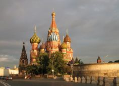 Moscow - Москва - St. Basil's Cathedral   - Покровский собор