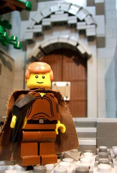 "Was searching for images for a project on the Protestant Reformation and came across this. Being a fan of Lego's, Martin Luther, and Lego Parody's (Let us not forget the Monty Python Lego version of ""Camelot""), I felt like I needed to post this. #reformation #martinluther #legos"