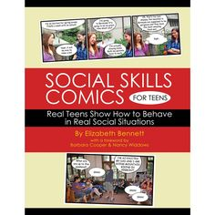 Social Skills Comics for Teens Social Skills Games, Social Thinking, Interactive Activities, Asd, Aspergers, Games For Kids, Special Needs Toys, Autism Toys, Autism Resources