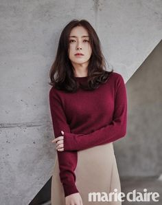 Song Yoon Ah Features the Latest Fall Looks with 'Marie Claire' | Koogle TV