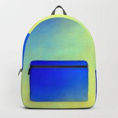 Soft #Backpacks #backpack #abstract #backtoschool #school #modern #soft #yellow #blue