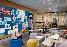 Technology is changing workplace design.
