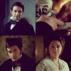 A favorite scene from North and South. {In the book she was wearing a bracelet and he kept watching its movement on her wrist}