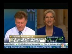 CNBC Squawk Box: Sen. Warren Leads Charge to Break Up Big Banks - Gotta LOVE this woman! #UniteBlue