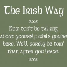 Irish Quotes & Proverbs | Wall Lettering | The Simple Stencil