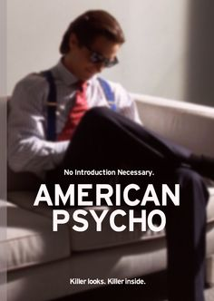 scottedwardfowler:    American Psycho Cover Design (2011) -Scott Edward Fowler