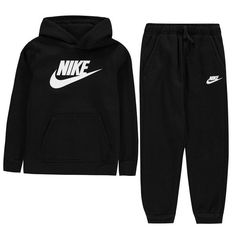 Cute Lazy Outfits, Outfits For Teens, Trendy Outfits, Nike Outfits, Boy Outfits, Workout Outfits, Nike Fleece Tracksuit, Champion Clothing, Sweatpants Outfit
