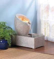 We had an indoor fountain at my first office.  It was so calming.