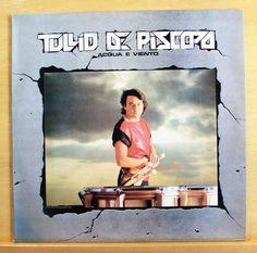 TULLIO DE PISCOPO Acqua e Viento Vinyl LP - Primavera Stop Bajon Italo Disco Pop