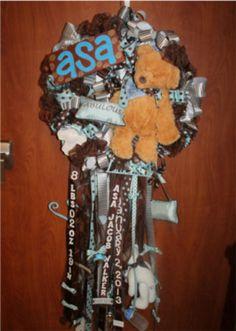 Safety first | Birth trend: Baby wreaths