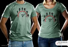 R$49.00 Catálogo - Camiseta Zumbímetro - Camisetas Red Bug