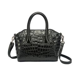 Material							PULeather											Color							Black,Beige,Red											Weight							27cm(10.63'')											Length							27cm(10.63'')											Width							11cm(4.33'')											Height							22xm(8.66'')											Interior Structure							1 Zipper Pockets,2 Cell Phone Pockets											Style							Crocodile Grain											Closure							Zipper				Package Include: 1 * Bag