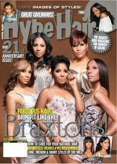My girls, the Braxton sisters. I love their show!