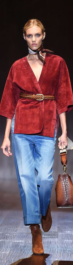 "Gucci Spring-Summer 2015 | The House of Beccaria~ ""And the LORD said to Moses, ""Go to the people and consecrate them today and tomorrow. Have them wash their clothes."" Exodus 19:10"
