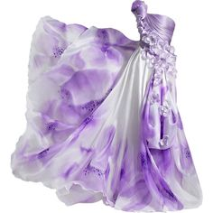 Amir Awad - edited by Satinee ❤ liked on Polyvore featuring dresses, gowns, vestidos, long dresses, purple ball gown, purple evening gown, purple gown y purple evening dresses
