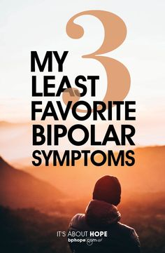 """My 3 Least Favorite Bipolar Symptoms"" Gabe Howard ""When it comes to living with bipolar disorder, there is no shortage of things to hate. It is an illness, after all, and being sick is not enjoyable. Symptoms Of Bipolar Depression, Bipolar Depression Treatment, Anxiety Disorder Treatment, Depression Remedies, Anxiety Attacks Symptoms, Anxiety Causes, How To Handle Depression, Depression Help"