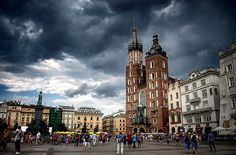 Krakow, Poland- My ancestors are all from Poland. My great-grandfather came to America with his mother.