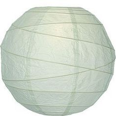 Honeydew Green 10 Inch Premium Round Paper Lantern by Luna Bazaar. $3.95. This small green paper lantern is made with the finest quality rice paper and bamboo freestyle ribbing. As with all our premium paper lanterns, they can be used with most ceiling fixtures and with most light cords for hanging lanterns. They can also be used with our LED battery lights as convenient, cord-free lighting and decoration for parties, weddings, patios, gardens, and outdoor celebrations. (Plea...