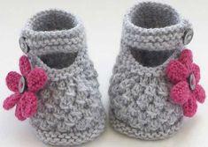Tığ İşi Yeni Doğmuş Bebek Patikleri - http://m-visible.com/tig-isi-yeni-dogmus-bebek-patikleri.html